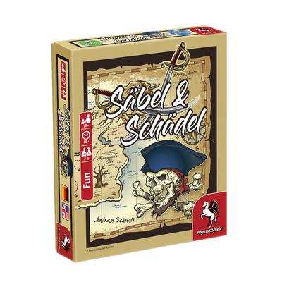 Säbel & Schädel (Spieldeckelspiel) – DE