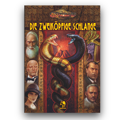 Pulp Cthulhu: Die Zweiköpfige Schlange (HC) – DE