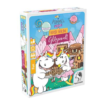 Pummel & Friends – Kekse für die Glitzerwelt (Spieldeckelspiel) – DE