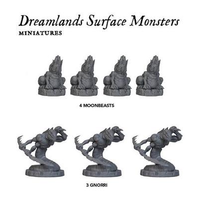 Cthulhu Wars: The Dreamlands Surface Monster Pack – EN