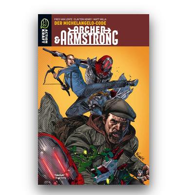 Archer & Armstrong – Band 1: Der Michelangelo-Code