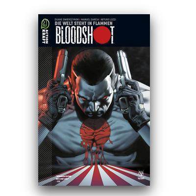 Bloodshot – Band 1: Die Welt steht in Flammen