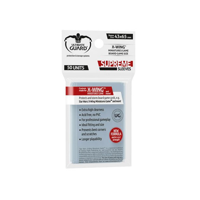 "Ultimate Guard: Sleeves – X-Wing™ Mini ""Supreme"" (43×65) – 50 Stk"