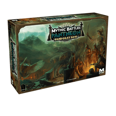 Mythic Battles: Pantheon – Pandora´s Box (inkl. Atlas)