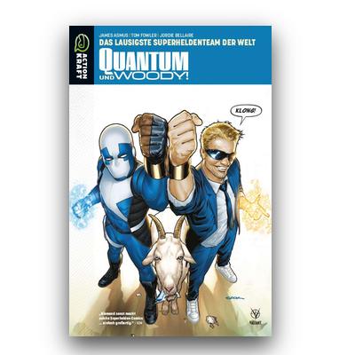 Quantum & Woody – Band 1: Das lausigste Superheldenteam der Welt