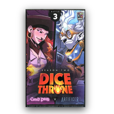 Dice Throne: Season Two – Cursed Pirate v. Artificer – EN