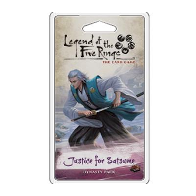 L5R: Inheritance 3 – Justice for Satsume – EN
