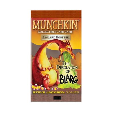 "Munchkin CCG: The Desolation of Blarg ""Booster"" – EN"