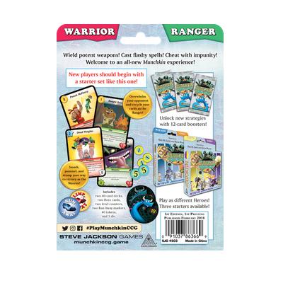 "Munchkin CCG: Starter Set ""Ranger & Warrior"" – EN"