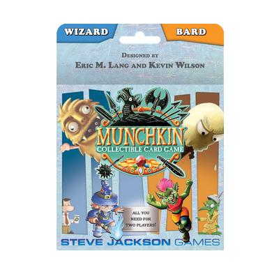 """Munchkin CCG: Starter Set """"Wizard & Bard"""" – EN"""