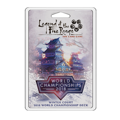 L5R: Winter Court 2018 World Championship Deck – EN
