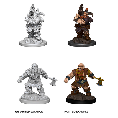 D&D Nolzur´s Marvelous Miniatures: Dwarf Barbarian