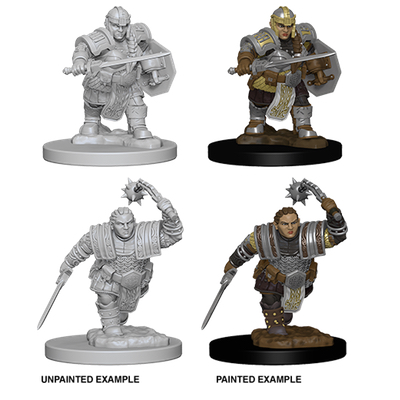 D&D Nolzur´s Marvelous Miniatures: Dwarf Fighter
