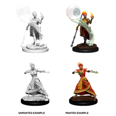 D&D Nolzur´s Marvelous Miniatures: Fire Genasi Wizard