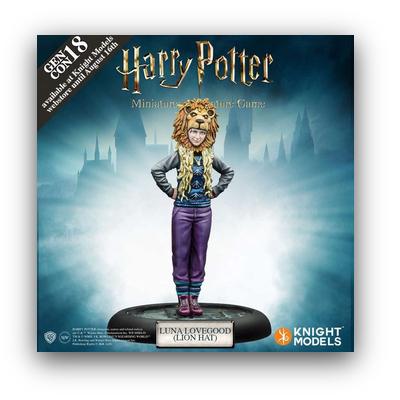 """Harry Potter Miniaturenspiel: Luna Lovegood (Lion Hat) """"Promo"""" – EN"""