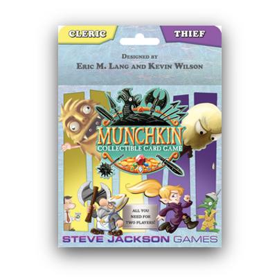 "Munchkin CCG: Starter Set ""Cleric & Thief"" – EN"