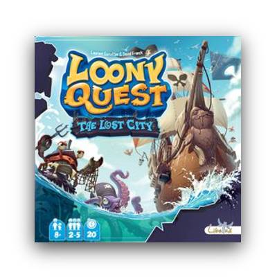 Loony Quest: The Lost City – EN