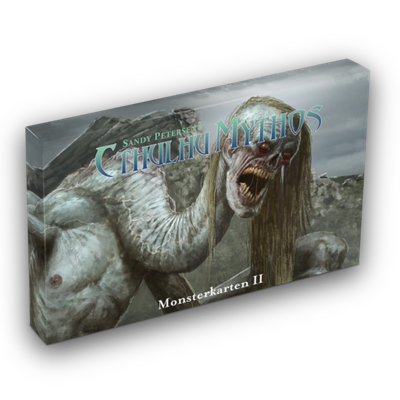 Cthulhu Mythos 5th: Monster II Kartenset – DE