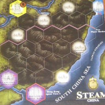 "Steam: Rails to Riches ""Map Expansion #2"" – EN"