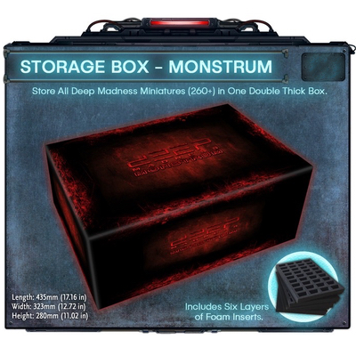 "Deep Madness: Storage Box ""Monstrum"""