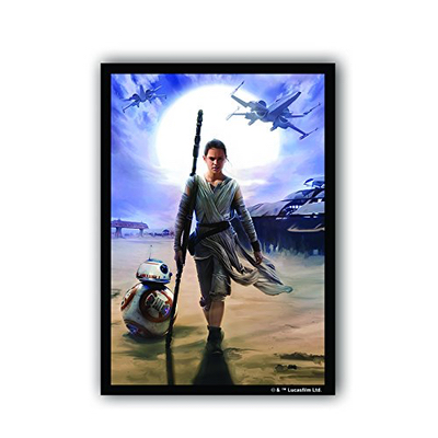 "FFG: Sleeves – Standard Art ""Star Wars the Force Awaken Rey"" 50 Stk"