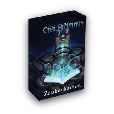 Cthulhu Mythos 5th: Zaubersprüche Kartenset – DE