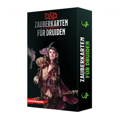 D&D: Zauberkarten für Druiden – DE