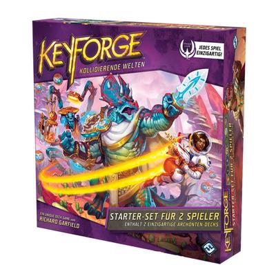 """KeyForge: Kollidierende Welten """"Starter-Set für 2 Spieler"""" – DE"""
