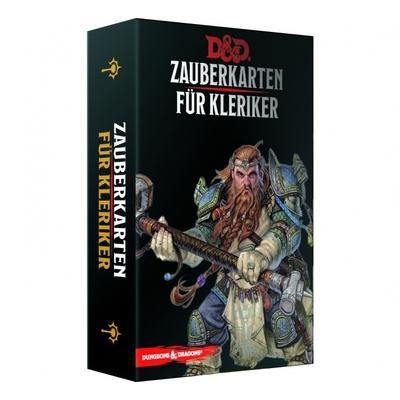 D&D: Zauberkarten für Kleriker – DE