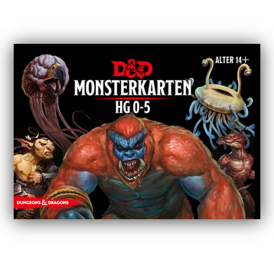 D&D: Monsterkarten 0-5 – DE