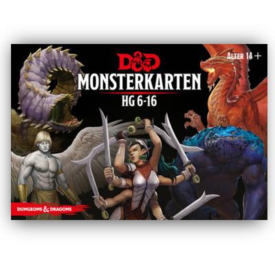 D&D: Monsterkarten 6-16 – DE