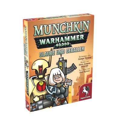 Munchkin: Warhammer 40.000 Glaube und Geballer – DE
