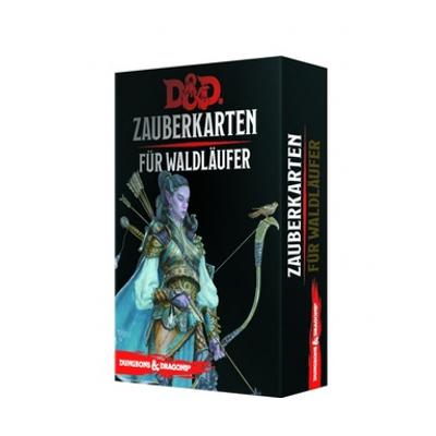 D&D: Zauberkarten für Waldläufer – DE