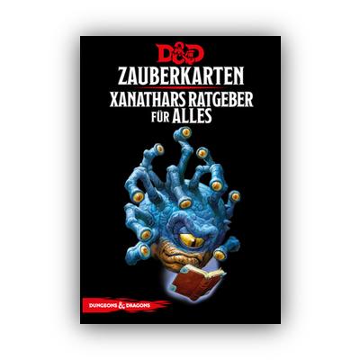 D&D: Zauberkarten Xanathars Ratgeber für Alles – DE