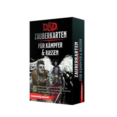 D&D: Zauberkarten für Kämpfer & Rassen – DE
