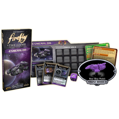 Firefly The Game: Esmeralda Expansion – EN