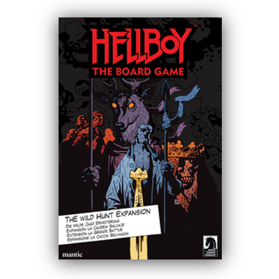 Hellboy: The Board Game – The Wild Hunt Expansion – EN