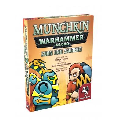 Munchkin: Warhammer 40.000 Zorn und Zauberei – DE