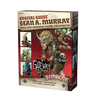 Zombicide Green Horde/Black Plague: SG Sean A. Murray – DE/EN