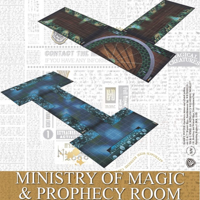 Harry Potter Miniaturenspiel: Ministry of Magic & Prophecy Room – EN