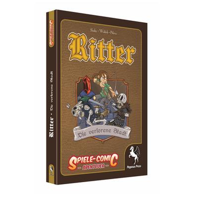 Spiele-Comic Abenteuer: Ritter #3 – Die verlorene Stadt (HC) – DE