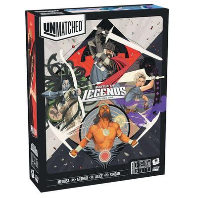 Unmatched Battle of Legends: Volume 1 – King Arthur, Alice, Medusa, Sindbad – EN