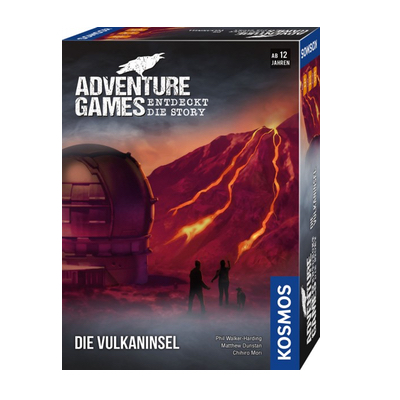 Adventure Games: Die Vulkaninsel – DE