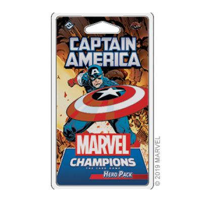 Marvel Champions: Captain America – DE (Release Frühjahr 2021)