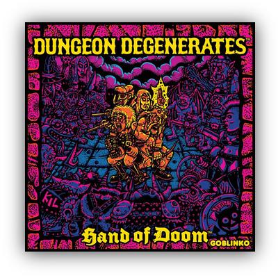Dungeon Degenerates: Hand of Doom – EN