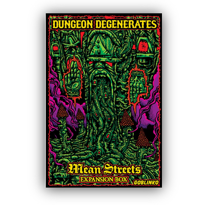 Dungeon Degenerates: Mean Streets Expansion Box – EN