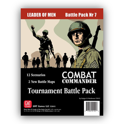 Combat Commander: Battle Pack #7 – Leader of Men: Tournament Battle Pack – EN