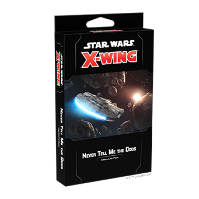Star Wars X-Wing 2.Edition: Never Tell Me the Odds Obstacles Pack – EN