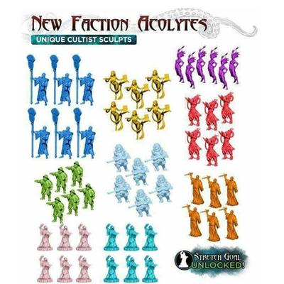 Cthulhu Wars: Alternate Faction Acolytes – EN