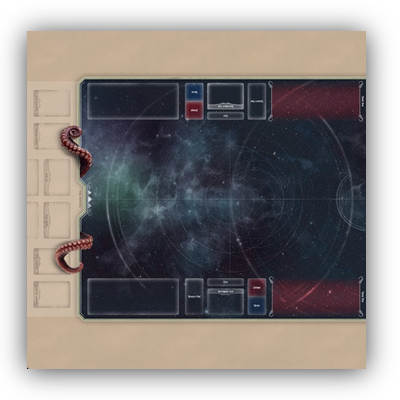 "Arkham Horror LCG: Premium-Playmat Neopren ""Blanko Version"" – EN"